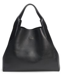 Lanvin - Structured Leather Tote - Lyst