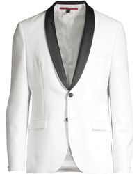 f5696299 Ted Baker Josh Shawl Lapel Slim Fit Tuxedo Jacket in Black for Men - Lyst