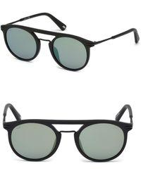 Web - 49mm Acetate 2-base Sunglasses - Lyst