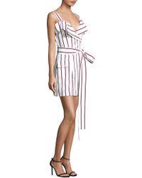 Alexis - Edrea Striped Dress - Lyst