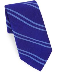 Polo Ralph Lauren - Double Stripe Silk Tie - Lyst