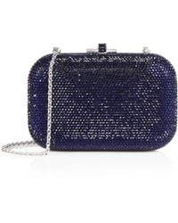 Judith Leiber Couture - Crystal-embellished Clutch - Lyst