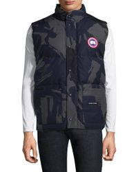 canada goose gilet with fur