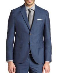 Saks Fifth Avenue - Modern-fit Wool Sportcoat - Lyst