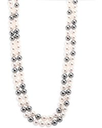 Adriana Orsini - Faux Pearl Double-strand Necklace/70 - Lyst