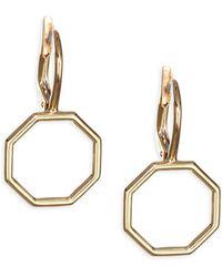 Phillips House - 18k Yellow Gold Hero Earrings - Lyst