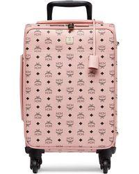 MCM - Traveller Trolley Luggage - Lyst