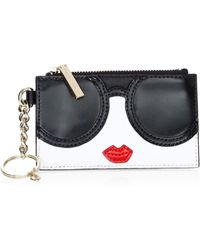 Alice + Olivia - Regina Stacey Leather Face Wallet - Lyst