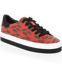 Alice + Olivia - Erza Cheetah Sneakers - Lyst