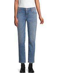 Eileen Fisher - Organic Cotton Stretch Boyfriend Jeans - Lyst