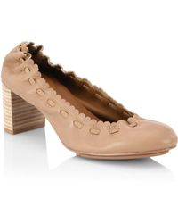 See By Chloé - Jane Leather Pumps - Lyst