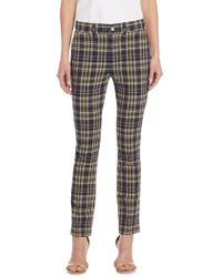 Polo Ralph Lauren | Madras Straight-leg Pants | Lyst