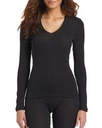 Hanro - Woollen Silk Long Sleeve Shirt - Lyst