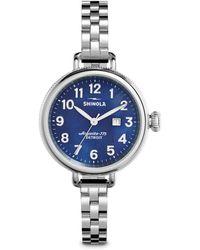 Shinola - Birdy Stainless Steel Bracelet Watch - Lyst