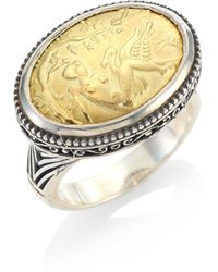 Konstantino - Gaia Oval Ring - Lyst