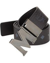 MCM - Flat Coated Canvas Belt - Lyst