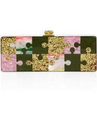 Edie Parker | Flavia Puzzled Clutch | Lyst