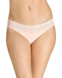 Natori Foundations - Bliss Perfection One-size Thong - Lyst