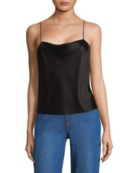 Alice + Olivia - Base Harmon Tank Top - Lyst