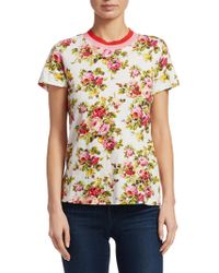 Zimmermann - Radiate Floral Tee Shirt - Lyst