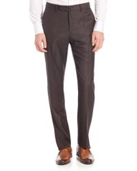 Incotex - Benson Sharkskin Dress Pants - Lyst
