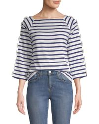 Tu Es Mon Tresor - Cotton Stripe Shirt - Lyst