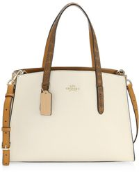COACH - Charlie Carryall Leather Bag - Lyst