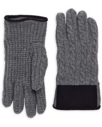 Moncler - Cable-knit Gloves - Lyst