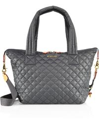 MZ Wallace - Sutton Oxford Medium Quilted Nylon Tote - Lyst
