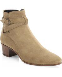 f51d628aed1 Saint Laurent Blake - Women's Saint Laurent Blake Boots - Lyst