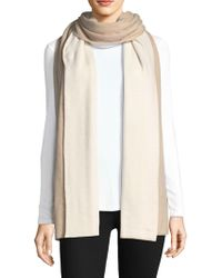 Rag & Bone - Color-block Cashmere Blanket Scarf - Lyst