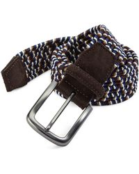 Saks Fifth Avenue | Braided Leather Belt | Lyst