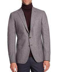 Saks Fifth Avenue   Printed Wool Sportcoat   Lyst