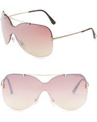 Tom Ford - Ondria Shield Sunglasses - Lyst
