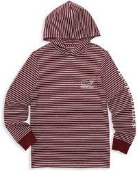 Vineyard Vines - Baby, Little & Boy's Striped Logo Hoodie - Lyst