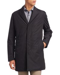 Saks Fifth Avenue - Collection Packable Raincoat - Lyst