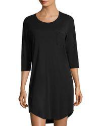 Skin - Paloma Cotton Sleepshirt - Lyst
