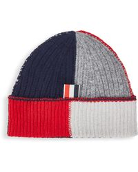 Lyst - Thom browne Donegal-effect Beanie in Gray for Men 85cb890f9877