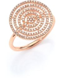 Astley Clarke - Icon Aura Grey Diamond & 14k Rose Gold Ring - Lyst