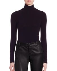 Alice + Olivia - Garrison Turtleneck Top - Lyst