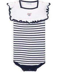 Ralph Lauren - Baby Girl's Nautical Bodysuit - Lyst