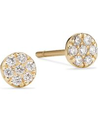 Lana Jewelry - Legacy 14k Gold & Diamond Studs - Lyst