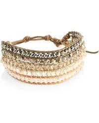 Chan Luu | Pyrite Mix Bracelet | Lyst