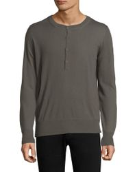 Tomas Maier - Baby Cashmere Henley - Lyst