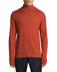 Etro - Long-sleeve Wool Sweatshirt - Lyst