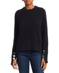 3.1 Phillip Lim - Button Sleeve Wool Sweater - Lyst