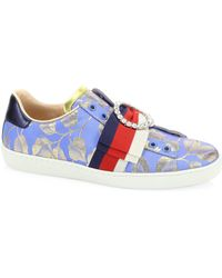 Gucci   New Ace Lurex Sneakers   Lyst