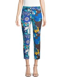 Trina Turk - Found In Translation Floral Chino Trousers - Lyst