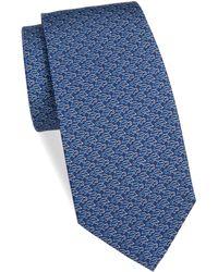 Ferragamo - Silk Turtle Paperclip Tie - Lyst