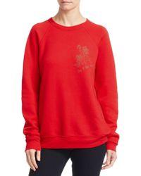 Rosie Assoulin | Rose Cotton Sweatshirt | Lyst